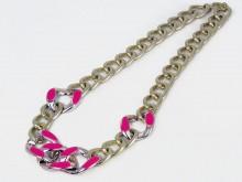Colgante cadena plástica metalizada 116129 x unidad