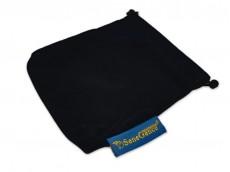 Bolsa de terciopelo azul 12x8cm x unidad