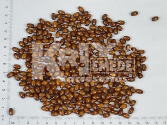 Semilla de madera 5,0mm x 8,0mm x medio kg