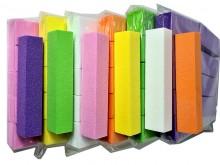 Limas de uñas cubo por color 9,5cm x 2cm x unidad