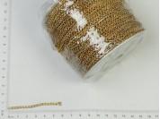 Cadena dorada Nº8 x 100 mts