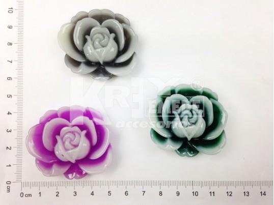 Rosa de resina