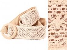 Faja con crochet reversible