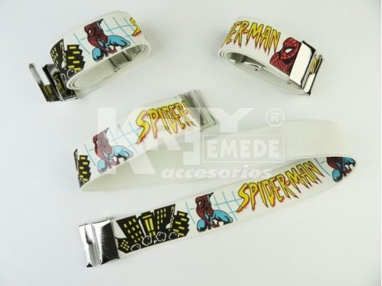 Cinturón elástico infantil Spiderman