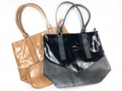 Cartera/bolso rectangular cuero ecológico