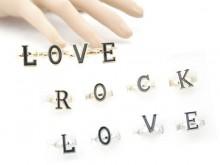 Anillo rock love en caja