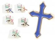 Anillo cruz esmaltada (n17-18)