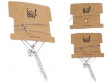 Set pulseras llave candado