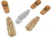 Pulsera 19cm cadena triple