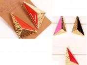 Aro triangulo esmaltado