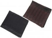 Billetera de hombre PVC trenzado