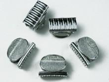Broches 4 - 4.5cm 4 mod. surtidos c/ glitter