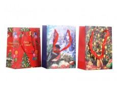 Bolsa de regalo navideña 16 x 11.5 x 5.8 cm