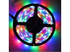 Tira led 5050 RGB (multicolor) interior x5m con fuente