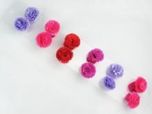 Colita con flor clavelina x blister