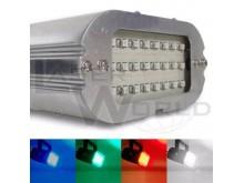 Mini flash estroboscópico audiorítmico 24 leds ROJO