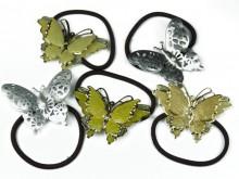 Sujetador con aplique strass mariposa
