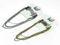 Peinetas con cadena