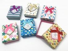 Caja de regalo para set estampada x 1