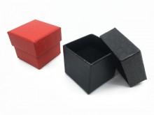 Caja de regalo para anillo croco x 1
